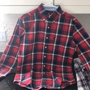 Xsmall American Eagle button up